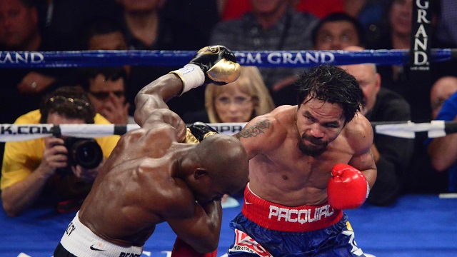 BOXING: Manny Pacquiao vs Timothy Bradley Jr