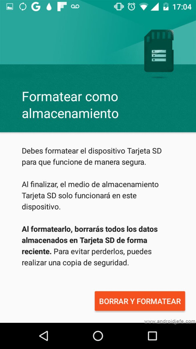 [TUTORIAL]: Usar la MicroSD cómo MEMORIA INTERNA (Android 6 o superior).